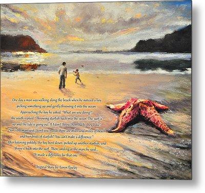 The Starfish Metal Print by Susan Jenkins