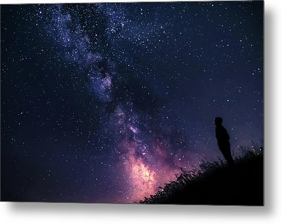 The Stargazer Metal Print
