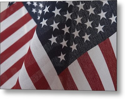 The Stars And Stripes Metal Print by Jerry McElroy