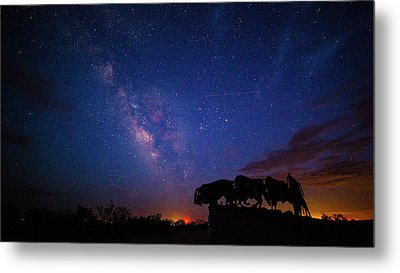 The Stars At Night Are Big And Bright Metal Print by Stephen Stookey