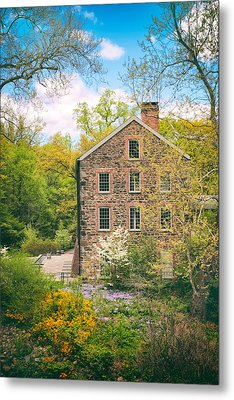 The Stone Mill In Spring Metal Print by Jessica Jenney