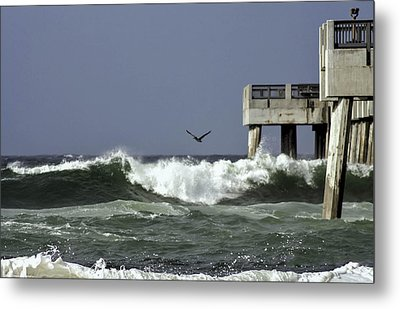 The Storm  Metal Print by Debra Forand