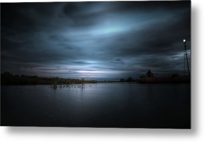 Metal Print featuring the photograph The Storm by Mark Andrew Thomas