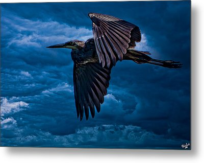 The Stormbringer Metal Print by Chris Lord