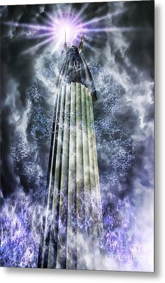 The Stormbringer Metal Print by John Edwards