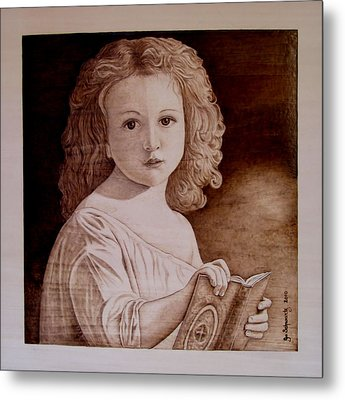 The Story Metal Print