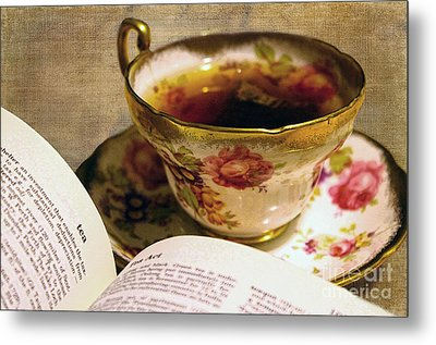 The Story Of Tea Metal Print