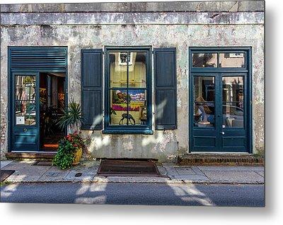 The Streets Of Charleston Metal Print