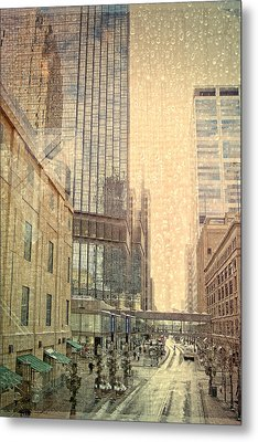 The Streets Of Minneapolis Metal Print by Susan Stone