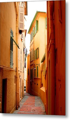 The Streets Of Venice Metal Print
