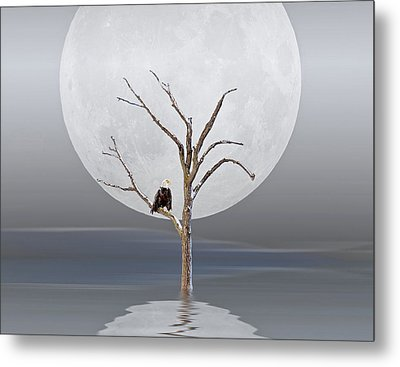 The Strong Survive Metal Print by Maria Dryfhout