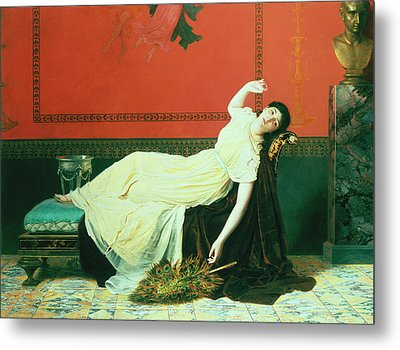The Studio Metal Print by Sophie Anderson