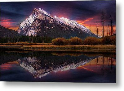 Metal Print featuring the photograph The Sun Also Rises by John Poon