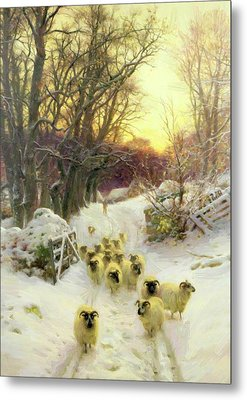 The Sun Had Closed The Winter Day 1904 Metal Print