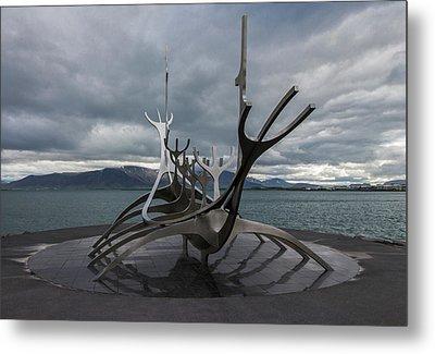 The Sun Voyager, Reykjavik, Iceland Metal Print