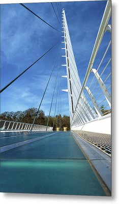 Metal Print featuring the photograph The Sundial Bridge by James Eddy