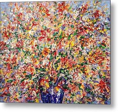 The Sunlight Flowers Metal Print