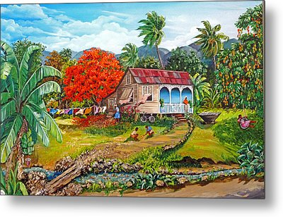 The Sweet Life Metal Print by Karin  Dawn Kelshall- Best