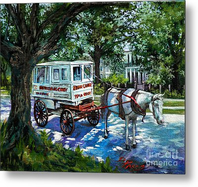 The Taffy Man Metal Print by Dianne Parks
