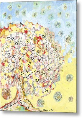 The Talking Tree Metal Print by Jennifer Lommers