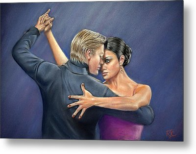 Tango Metal Print by Rosemary Colyer