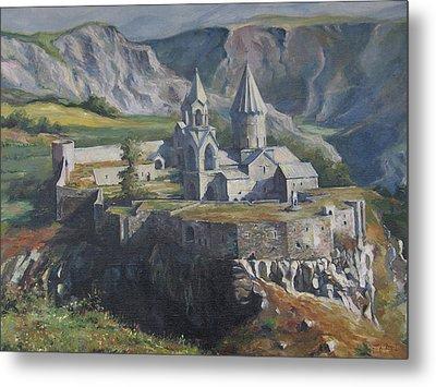 The Tatev Monastery Metal Print by Tigran Ghulyan