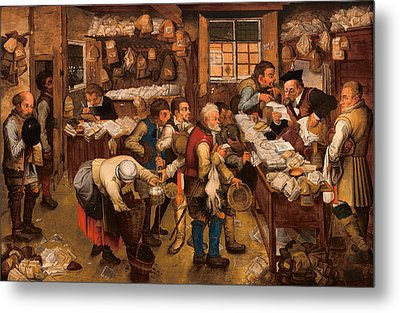 The Tax Collector's Office Metal Print