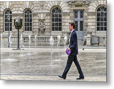 Metal Print featuring the photograph The Tax Man by Keith Armstrong