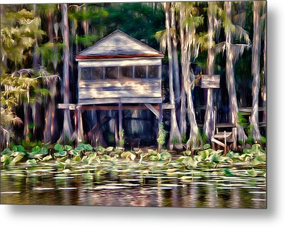 The Tea Room Metal Print by Lana Trussell