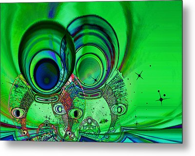 The Terrible Twos Metal Print by Wendy J St Christopher