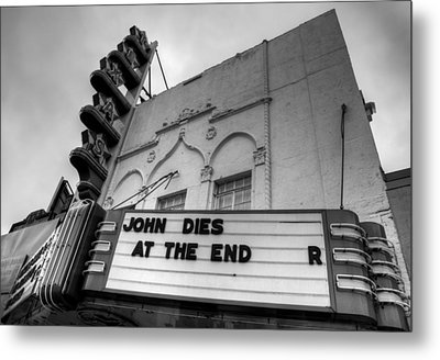 The Texas Theatre Metal Print by Mark Alder