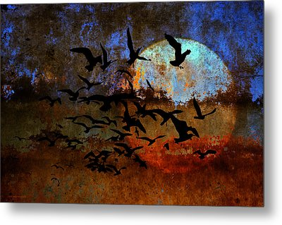 The Texture Of Our Dreams Metal Print by Ron Jones