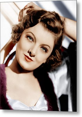 The Thin Man, Myrna Loy, 1934 Metal Print by Everett