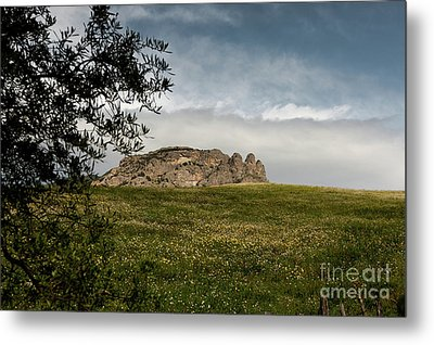 Italy, Calabria, Cimina,the Three Fingers Metal Print by Bruno Spagnolo