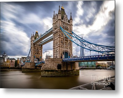 The Three Towers Metal Print by Giuseppe Torre