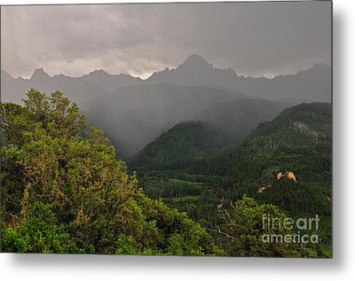 The Thunder Rolls Metal Print