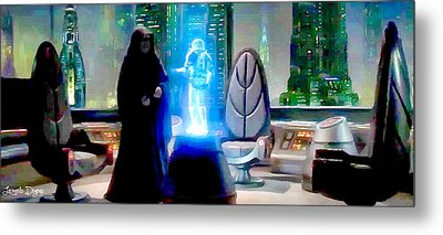 The Time Has Come Commander - Pa Metal Print