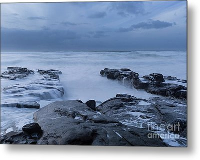 The Time To Stare At The Ocean Metal Print