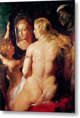 The Toilet Of Venus Metal Print by Peter Paul Rubens