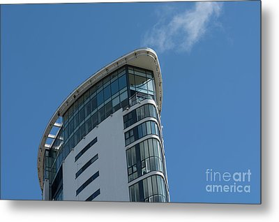 The Top Of The Tower Metal Print by Steve Purnell