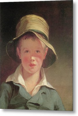 The Torn Hat Metal Print by Thomas Sully
