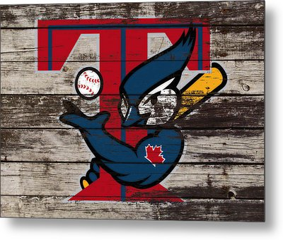 The Toronto Blue Jays 1a Metal Print by Brian Reaves