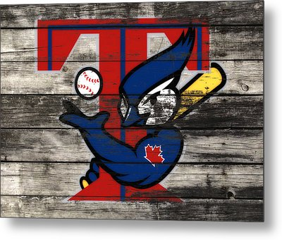 The Toronto Blue Jays  Metal Print by Brian Reaves