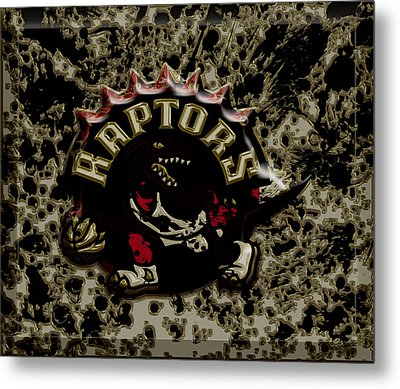 The Toronto Raptors 1a Metal Print by Brian Reaves