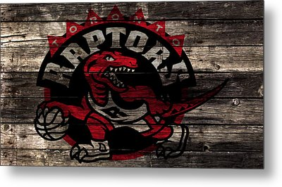 The Toronto Raptors 2a Metal Print by Brian Reaves