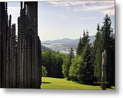 The Totems Watching Metal Print