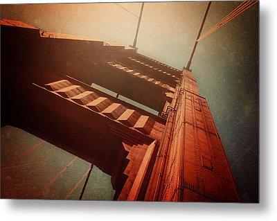 The Towering Golden Gate Metal Print