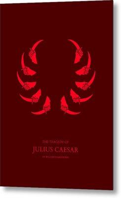 The Tragedy Of Julius Caesar Metal Print by Nicholas Ely