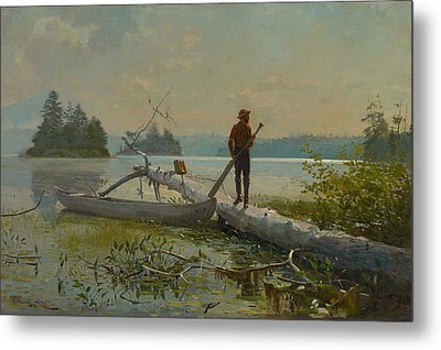 The Trapper Metal Print