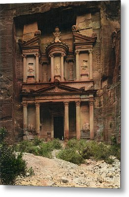 The Treasury Petra Metal Print by Celestial Images